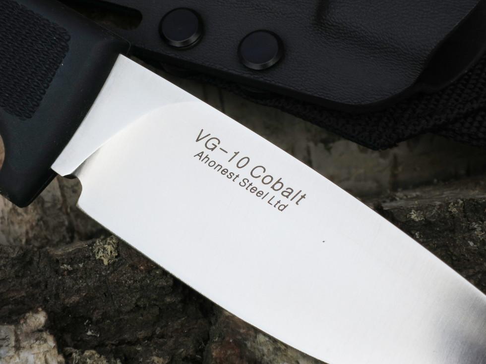 VG-10 Kobolt stål. Specialtillverkat homogent stål för högsta prestanda
